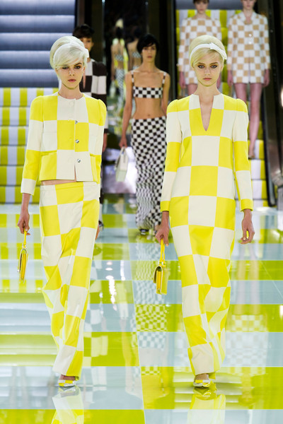 Opening Outfits for the Louis Vuitton Spring/Summer 2013 Paris Fashion Show