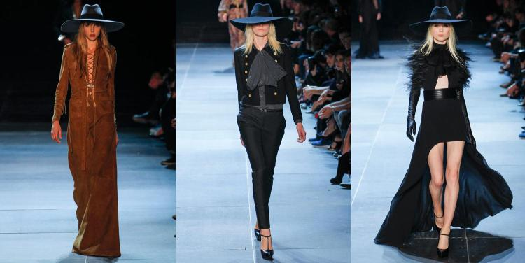Saint Laurent Spring Summer 2013 Looks