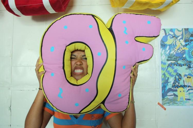 Odd Future Doughnut Pillow