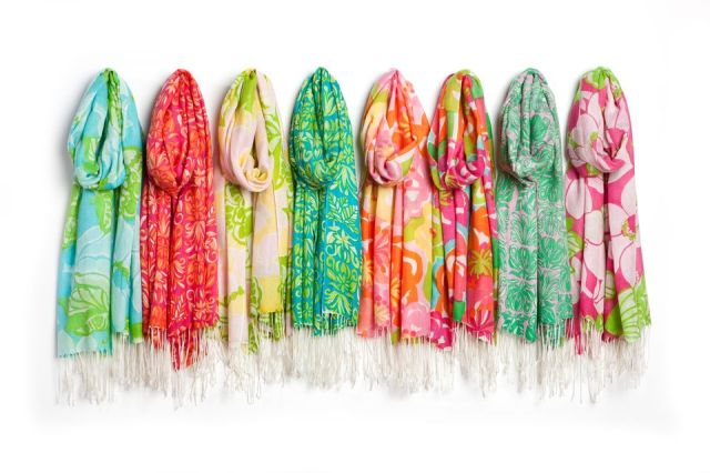Lilly Pulitzer Pashminas